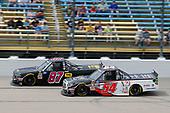 #54: Natalie Decker, DGR-Crosley, Toyota Tundra N29 Technologies LLC and #87: Tyler Ankrum, NEMCO Motorsports, Chevrolet Silverado NEMCO