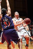 SAN ANTONIO, TX - JANUARY 26, 2006: The Northwestern State University Lady Demons vs. The University of Texas at San Antonio Roadrunners Women's Basketball at the UTSA Convocation Center. (Photo by Jeff Huehn)