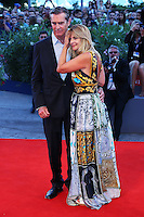 Rupert Everett and Nastassja Kinski attend the red carpet for the Kineo Award, during the 72nd Venice Film Festival at the Palazzo Del Cinema in Venice, Italy, September 6, 2015.<br /> UPDATE IMAGES PRESS/Stephen Richie