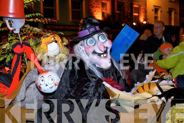 Zombies, ghosts, goblins and witches made their way through the streets of Kenmare last Thursday to mark Halloween in the town.