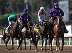 November 2, 2019: Mitole, ridden by Ricardo Santana Jr., wins the Breeders' Cup Sprint on Breeders' Cup World Championship Saturday at Santa Anita Park on November 2, 2019: in Arcadia, California. Carolyn Simancik/Eclipse Sportswire/CSM