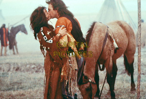 Dances with Wolves (1990) <br /> Kevin Costner &amp; Mary McDonnell<br /> *Filmstill - Editorial Use Only*<br /> CAP/KFS<br /> Image supplied by Capital Pictures