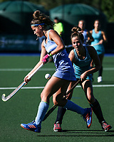 Action during the Secondary School Girls ANZAC hockey Invitational Tournament between Villa Maria (CHCH) and Kristen College (AKL) Hockey matchat St Cuthbert's College, Remuera,  New Zealand.Wednesday 26 April 2017. Photo:Simon Watts / www.bwmedia.co.nz