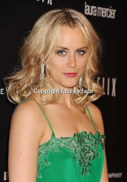 BEVERLY HILLS, CA- JANUARY 12: Actress Taylor Schilling attends The Weinstein Company &amp; Netflix 2014 Golden Globes After Party held at The Beverly Hilton Hotel on January 12, 2014 in Beverly Hills, California.<br />