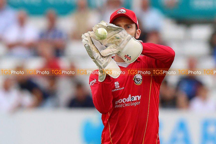 James Foster of Essex fields the ball during Essex Eagles vs Glamorgan, Royal London One-Day Cup Cricket at the Essex County Ground on 26th July 2016
