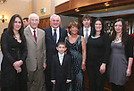 Jimmy Mulroy with his family Caoimhe, Chris, Cormac and Christine Mulroy, Christine Goodacre, grandson Evan Cumiskey and Bertie Ahern at Jimmy's retirement party in the Westcourt Hotel...Photo NEWSFILE/Jenny Matthews.(Photo credit should read Jenny Matthews/NEWSFILE)....This Picture has been sent you under the condtions enclosed by:.Newsfile Ltd..The Studio,.Millmount Abbey,.Drogheda,.Co Meath..Ireland..Tel: +353(0)41-9871240.Fax: +353(0)41-9871260.GSM: +353(0)86-2500958.email: pictures@newsfile.ie.www.newsfile.ie.FTP: 193.120.102.198.