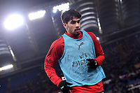 Lucas Paqueta of AC Milan warms up head the Serie A 2018/2019 football match between AS Roma and AC Milan at stadio Olimpico, Roma, February 3, 2019 <br />  Foto Andrea Staccioli / Insidefoto