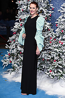 """LONDON, UK. November 11, 2019: Bryony Kimmings arriving for the """"Last Christmas"""" premiere at the BFI Southbank, London.<br /> Picture: Steve Vas/Featureflash"""