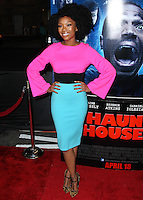 "LOS ANGELES, CA, USA - APRIL 16: Singer Brandy Norwood arrives at the Los Angeles Premiere Of Open Road Films' ""A Haunted House 2"" held at Regal Cinemas L.A. Live on April 16, 2014 in Los Angeles, California, United States. (Photo by Xavier Collin/Celebrity Monitor)"