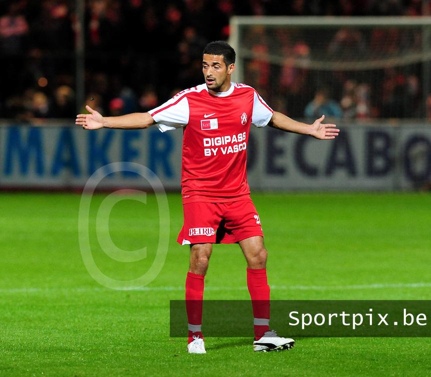 KV Kortrijk : Mohamed Messoudi.foto VDB / BART VANDENBROUCKE