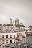FRANCE,  Paris view of the Sacré-Cœur Basilica and Parisian rooftops