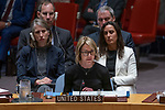 Security Council meeting<br /> <br /> The situation in the Middle East<br /> USA