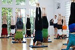 Instructing the instructors at the Iyengar Yoga Institute, London