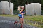 Chugiak's Adrianna Proffitt races toward the finish line.  Photo for the Star by Michael Dinneen