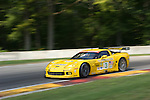 10 August 2007: The Corvette Racing C6.R driven by Johnny O'Connell (USA) and Jan Magnussen (DNK) at the Generac 500 at Road America, Elkhart Lake, WI