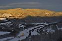 Winter morning,Gaula,Norway Landscape, landskap,