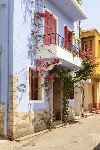 Blue painted house in the town of Chios, Chios, Greece<br /> CAP/MEL<br /> &copy;MEL/Capital Pictures /MediaPunch ***NORTH AND SOUTH AMERICA ONLY***