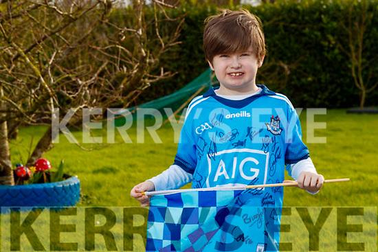 Sean Kearney pictured in his Dublin football jersey
