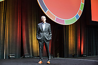 Rabbi Rick Jacobs is president of the Union for Reform Judaism, seen here posing for a portrait on the Plenary Stage at the Union for Reform Judaism Biennial 2017 in the Hynes Convention Center in Boston, Mass., USA, on Wed., Dec. 6, 2017.