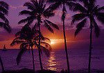 Sunset in Paradise<br /> Poipu Beach<br /> Kauai, Hawaii