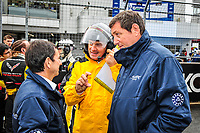 #50 JACK LECONTE (FRA) LARBRE GERARD NEVEU (FRA) CEO FIA WEC TEAM MANAGER PIERRE FILLON (FRA) PRESIDENT OF THE AUTOMOBILE CLUB OF WEST