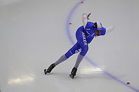 SCHAATSEN: HEERENVEEN: IJsstadion Thialf, 06-10-2012, Trainingswedstrijd, Anice Das, ©foto Martin de Jong