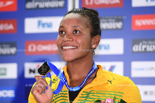 Alia Atkinson (JAM), <br /> OCTOBER 26, 2016 - Swimming : FINA Swimming World Cup Tokyo <br /> Women's 50m Breaststroke Award Ceremony <br /> at Tatsumi International Swimming Pool, Tokyo, Japan. <br /> (Photo by AFLO SPORT)