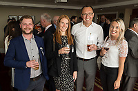 Pictured from left is Ewan Clarke of Castle Pub, Kirsty Edwards of Notts County Football Club, Matt Arnold of Five Nine Five and Katie Sutton of Ginger Root