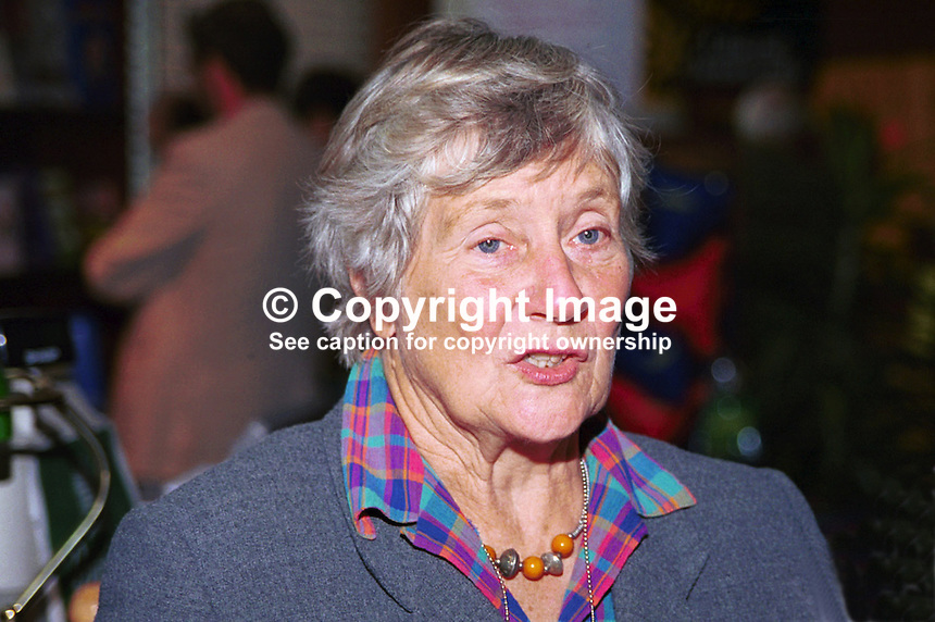 Baroness Williams of Crosby, aka Shirley Williams, Liberal Democrat, Life Peer, Britain, UK. Ref:199909123. Taken at Liberal Democrats Annual Conference - Harrogate, England during September 99...Copyright Image from Victor Patterson, 54 Dorchester Park, Belfast, UK, BT9 6RJ..Tel: +44 28 9066 1296.Mob: +44 7802 353836.Voicemail +44 20 8816 7153.Skype: victorpattersonbelfast.Email: victorpatterson@mac.com.Email: victorpatterson@ireland.com (back-up)..IMPORTANT: If you wish to use this image or any other of my images please go to www.victorpatterson.com and click on the Terms & Conditions. Then contact me by email or phone with the reference number(s) of the image(s) concerned.