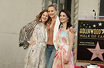 Lucy Liu Honored With Star On The Hollywood Walk Of Fame on May 01, 2019 in Hollywood, California.<br /> a_Lucy Liu 010  Drew Barrymore, Cameron Diaz