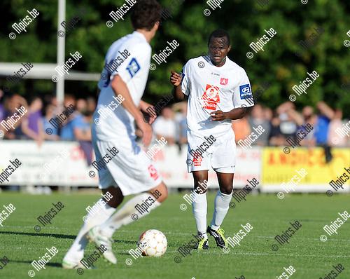 2011-07-06 / Voetbal / seizoen 2011-2012 / Beerschot AC - Maccabi Tel Aviv / Johanna Omolo..Foto: mpics