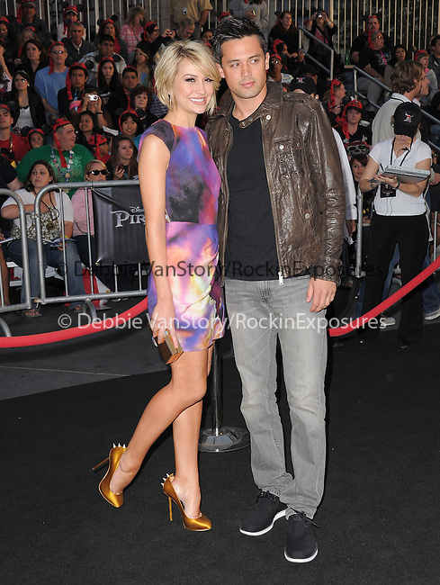 Chelsea Kane and Stephen Colletti at Walt Disney Pictures Premiere of Pirates of the Caribbean : On Stranger Tides held at Disneyland in Anaheim, California on May 07,2011                                                                               © 2010 Hollywood Press Agency