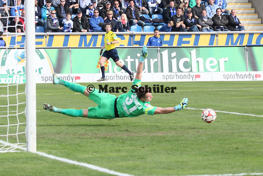 Parade Christian Mathenia (SV98) - FSV Frankfurt vs. SV Darmstadt 98, Frankfurter Volksbank Stadion