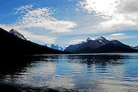 Maligne Lake Jasper National Park.