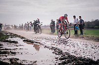 Mads Pedersen (DEN/Trek Segafredo),<br /> <br /> 116th Paris-Roubaix (1.UWT)<br /> 1 Day Race. Compiègne - Roubaix (257km)