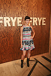 Morena Baccarin Attends The Frye Company Flagship Opening Celebration at the Cunard Building, NY 9/9/11