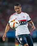Douglas Costa of Bayern Munich in action during the Bayern Munich vs Guangzhou Evergrande as part of the Bayern Munich Asian Tour 2015  at the Tianhe Sport Centre on 23 July 2015 in Guangzhou, China. Photo by Aitor Alcalde / Power Sport Images