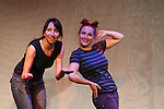 Becky & Noelle at Sketchfest NYC, 2006. Sketch Comedy Festival in New York City.