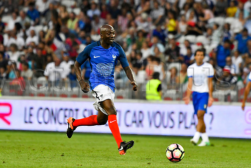 June 17th 2017; Allianz Riviera, Nice, France; Legends football international, France versus Italy;  Claude Makelele (France)