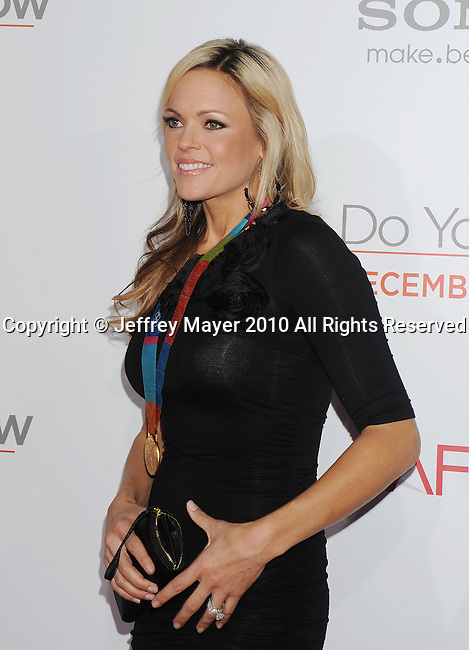 "LOS ANGELES, CA. - December 13: Jennie Finch of U.S. Women's Olympic Softball Team attends the ""How Do You Know"" Los Angeles Premiere at Regency Village Theatre on December 13, 2010 in Westwood, California."
