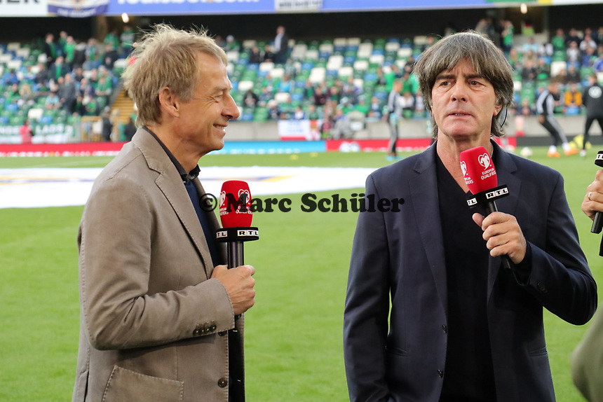 - 09.09.2019: Nordirland vs. Deutschland, Windsor Park Belfast, EM-Qualifikation DISCLAIMER: DFB regulations prohibit any use of photographs as image sequences and/or quasi-video.