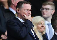 Millwall Chief Executive, Steve Kavanagh during Millwall vs Leeds United, Sky Bet EFL Championship Football at The Den on 5th October 2019