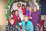 In Santa's Grotto at the Cahersiveen Credit Union on the 8th December as part of the 10% off Shopping day were front l-r; Eileen Garvey, Chris O'Sullivan, back l-r; Mary O'Shea, Santa, Sheila Coffey, Mary Walsh, Maureen O'Connor & Eilish O'Neill