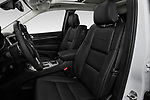 Front seat view of a 2018 Jeep Grand-Cherokee Summit 5 Door SUV front seat car photos