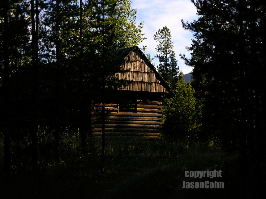 An old horse barn near Glacier Park, Montana. Photo by Jason Cohn
