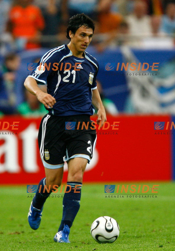 Gelsenkirchen 16/6/2006 World Cup 2006.Argentina Serbia & Montenegro 6-0.Photo Andrea Staccioli Insidefoto.Nicolas Burdisso Argentina