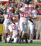 Wisconsin Football at Michigan 2010