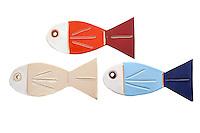 ceramic fishes