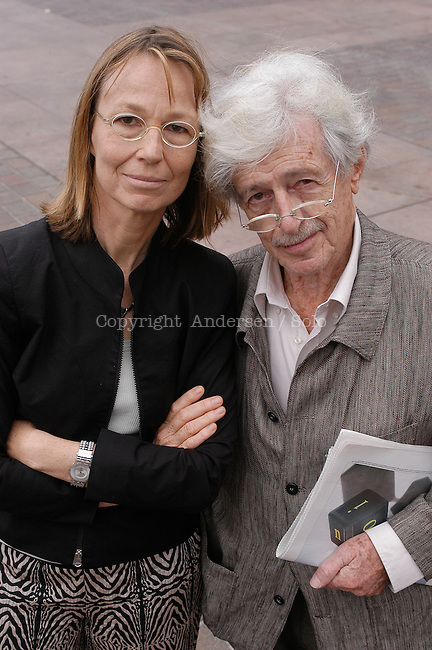 Francoise and Hubert Nyssen, publisher.