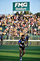 Ardie Savea in action during the Super Rugby - Hurricanes v Blues at FMG Stadium, Palmerston North, New Zealand on Friday 13 March 2015. <br /> Photo by Masanori Udagawa. <br /> www.photowellington.photoshelter.com.